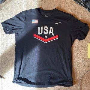 Nike wrestling US shirt